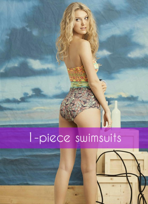 One-piece swimsuits for women