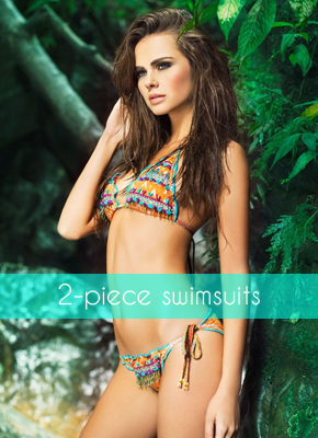 2-piece swimsuits for women